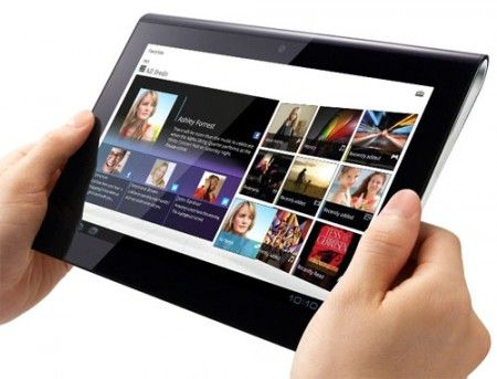 Sony: Tablet S supporta il pad PS3