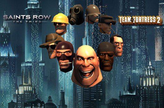 Le maschere di TF2 in Saint's Row: the Third