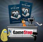 Steam Cards ora disponibili anche nei GameStop italiani!