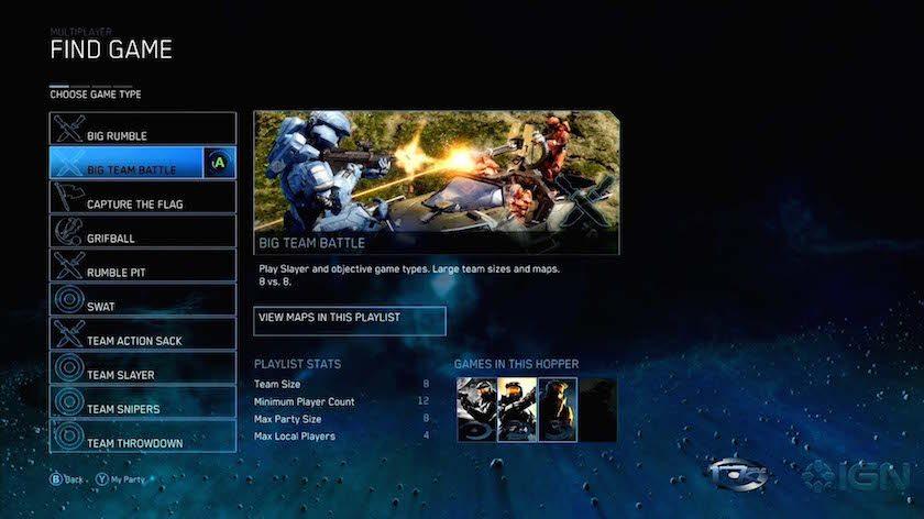 Halo 4 aggiornamenti di matchmaking