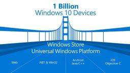 Windows 10 su 1 miliardo di dispositivi entro tre anni