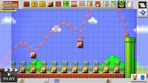 Super Mario Maker trail