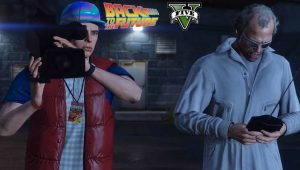 GTA V: un video tributo a Ritorno al Futuro