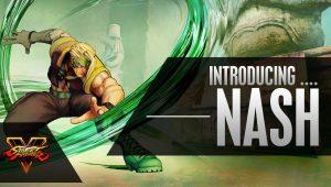 Street Fighter V, un approfondimento in video per Nash