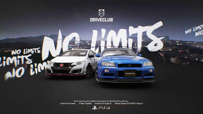 Driveclub rivela gli update NO LIMITS e Suzuki