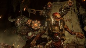DOOM, il sanguinario trailer multigiocatore