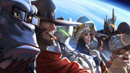 Avvistate delle statue giganti degli eroi di Overwatch