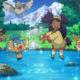 Cade in un laghetto mentre gioca a Pokémon GO