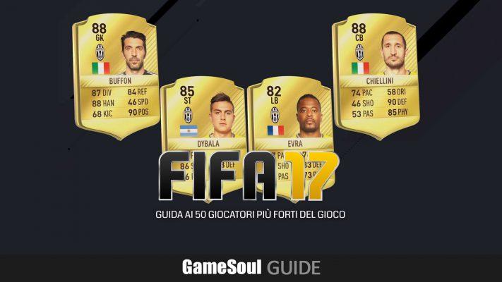FIFA 17 Ultimate Team – Guida ai 50 giocatori più forti
