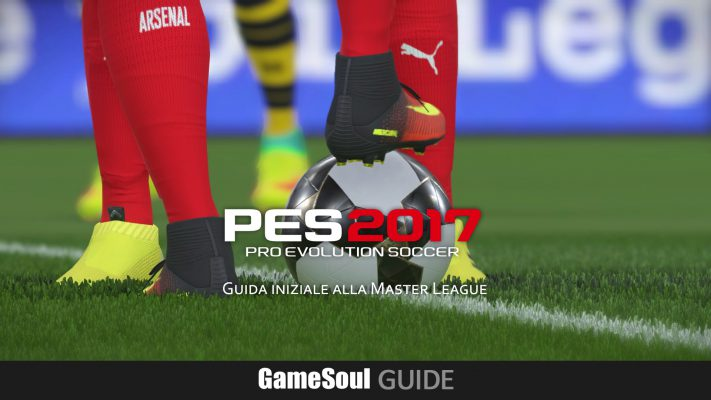 PES 2017: Guida iniziale alla Master League