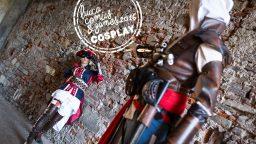 Assassin's Creed Cosplay Italia Lucca Comics & Games 2016