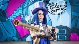 Cosplay League of Legends Lucca Comics & Games 2016
