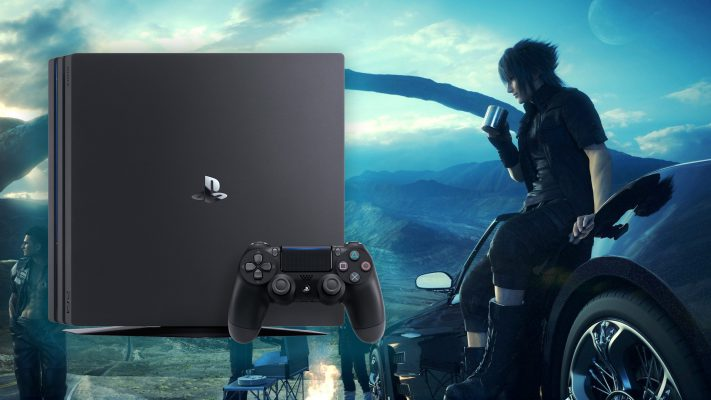 Final Fantasy XV PS4 Pro