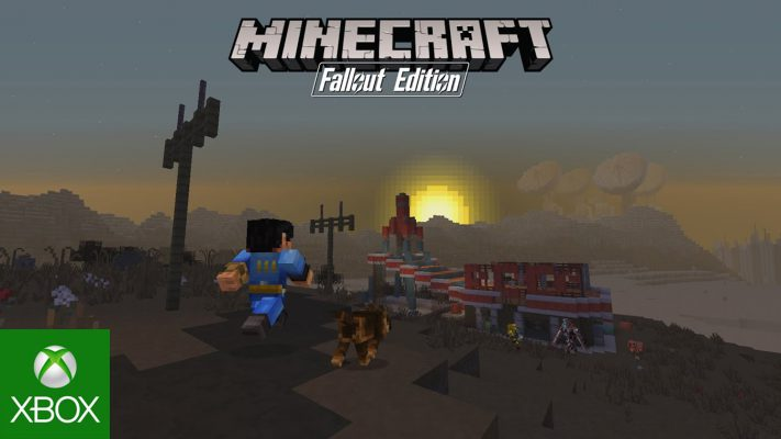 Fallout sbarca in Minecraft con un imperdibile mash-up pack