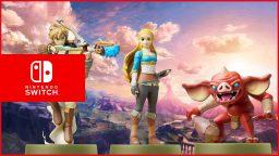 I nuovi amiibo dedicati a The Legend of Zelda: Breath of the Wild