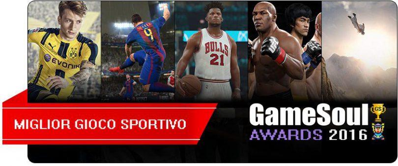 Miglior Gioco Sportivo – GameSoul Awards 2016