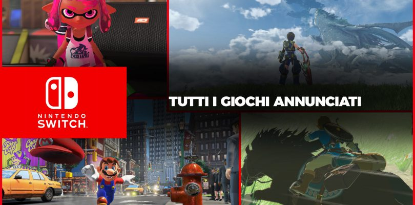 I Giochi di Nintendo Switch