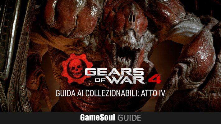 Gears of War 4 – Guida ai Collezionabili: Atto IV