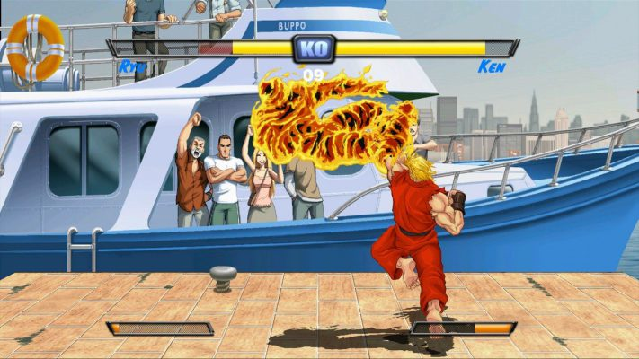 A sorpresa, anche Ultra Street Fighter II su Switch