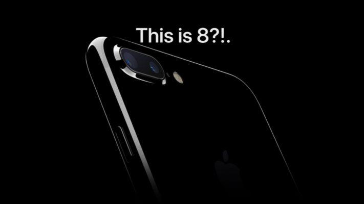 Scansione dell'iride e ricarica wireless per l'iPhone 8