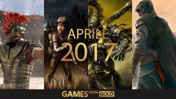 Games with Gold: annunciati i titoli di Aprile 2017