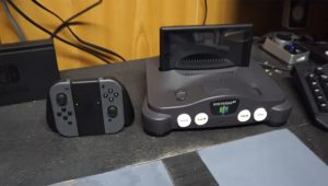Nintendo Switch: simpatica dock ricavata da un N64
