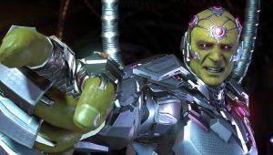 Injustice 2, il brillante Brainiac protagonista del nuovo trailer