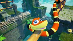 Snipperclips e Snake Pass dominano l'eShop di Switch