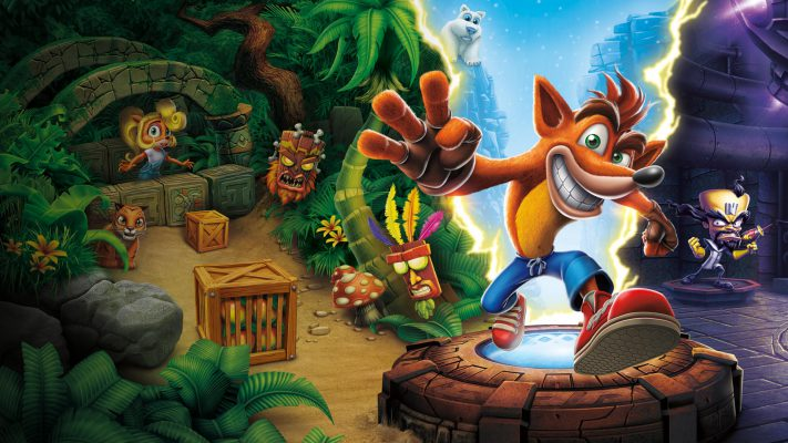 Crash Bandicoot N.Sane Trilogy continua a dominare la classifica italiana