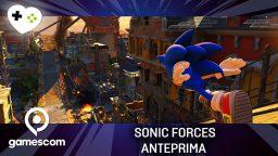 Sonic Forces – Anteprima gamescom 17