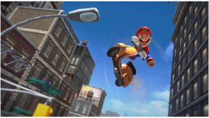 13 minuti di gameplay in co-op per Super Mario Odyssey