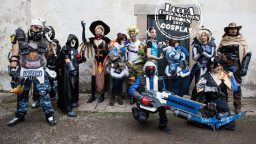 Overwatch Cosplay Italia Blizzard Lucca Comics & Games 2017