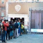 Warner Bros Justice League Jumanji Lucca Comics & Games 2017