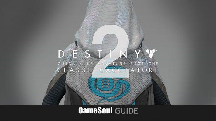 Destiny 2 – Guida alle Armature Esotiche: classe Cacciatore