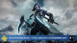 PlayStation Plus: annunciati i titoli gratuiti di dicembre 2017