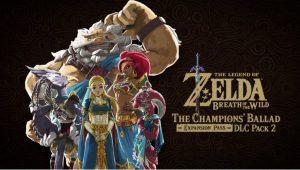 Legend of Zelda Breath of the Wild DLC