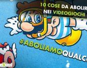 10 cose da abolire nei videogiochi #aboliamoqualcosa