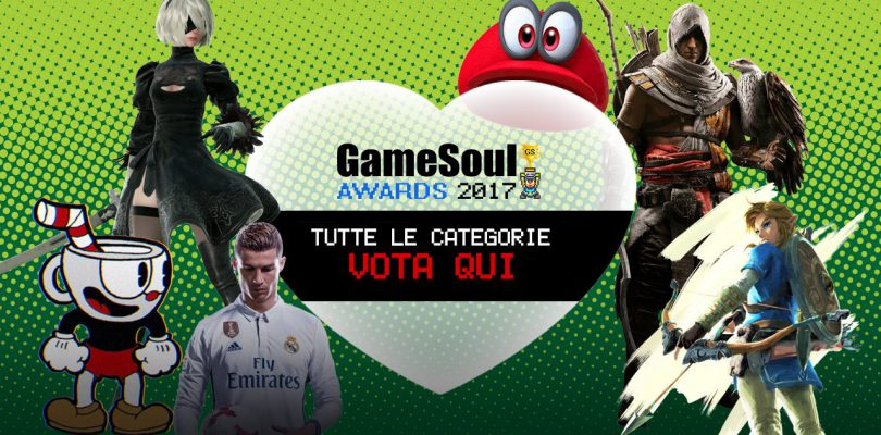 Le Categorie – GameSoul Awards 2017