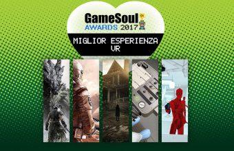 Miglior Esperienza VR – GameSoul Awards 2017