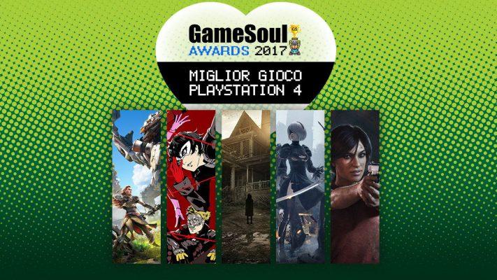 Miglior gioco PS4 – GameSoul Awards 2017