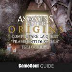 """Assassin's Creed Origins – Quest """"Frammenti di Stella"""" – Guida"""