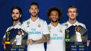Il Team of the Year di FIFA 18 FUT: disponibile ancora per poco!
