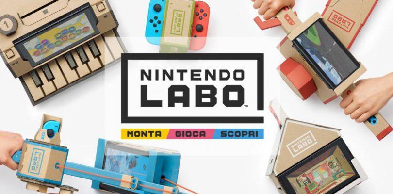 Nintendo Labo – Cos'è e come funziona