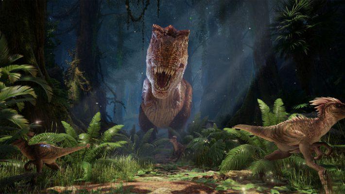 Faccia a faccia con i dinosauri in ARK Park VR