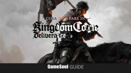 Cosa NON fare in Kingdom Come: Deliverance – Guida