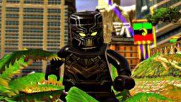 Black Panther è al cinema, ma anche in LEGO Marvel Super Heroes 2