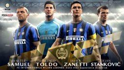 PES 2018 accoglie le Leggende di Inter e Milan