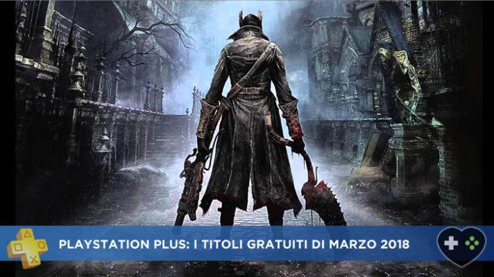 PlayStation Plus Marzo