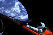 tesla roadster spacex falcon heavy