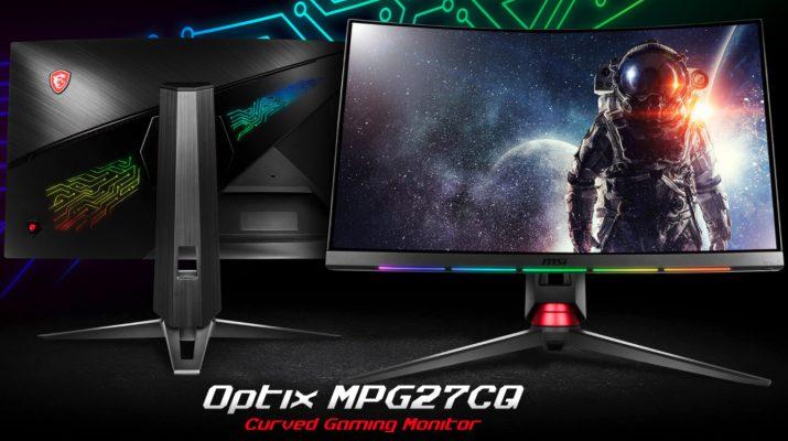 MSI annuncia nuovi monitor da gaming curvi con tecnologia GameSense